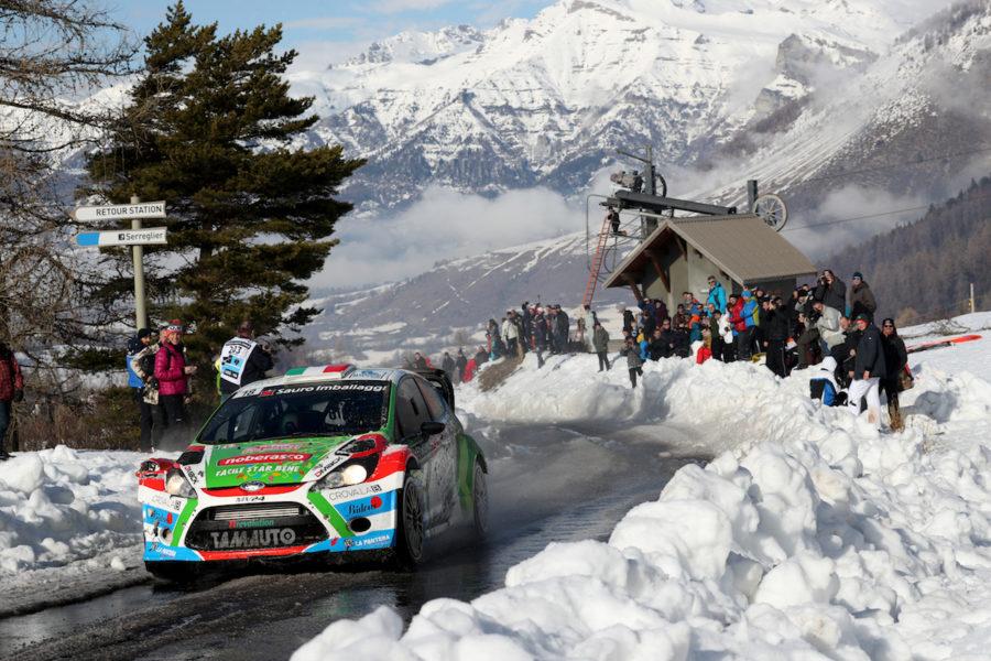 Sedicesimo Michi al Rally di Montecarlo
