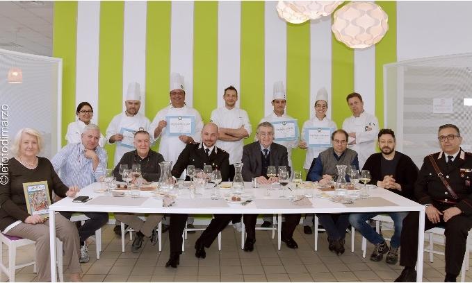 Costigliole, esame per gli studenti dell'Icif di fronte agli chef stellati