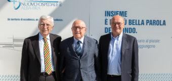 Bruno Ceretto presidente della Fondazione Nuovo Ospedale Alba Bra