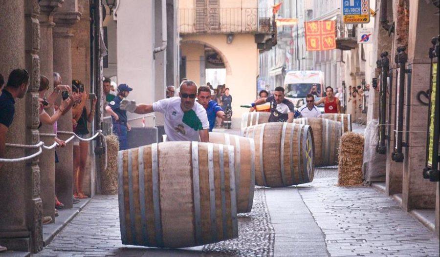 Nizza Monferrato, tutto pronto per la Corsa delle botti