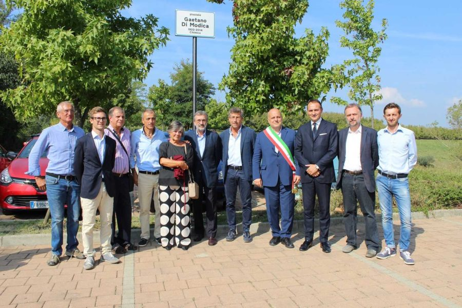 Alba, piazzale intitolato al professor Gaetano Di Modica