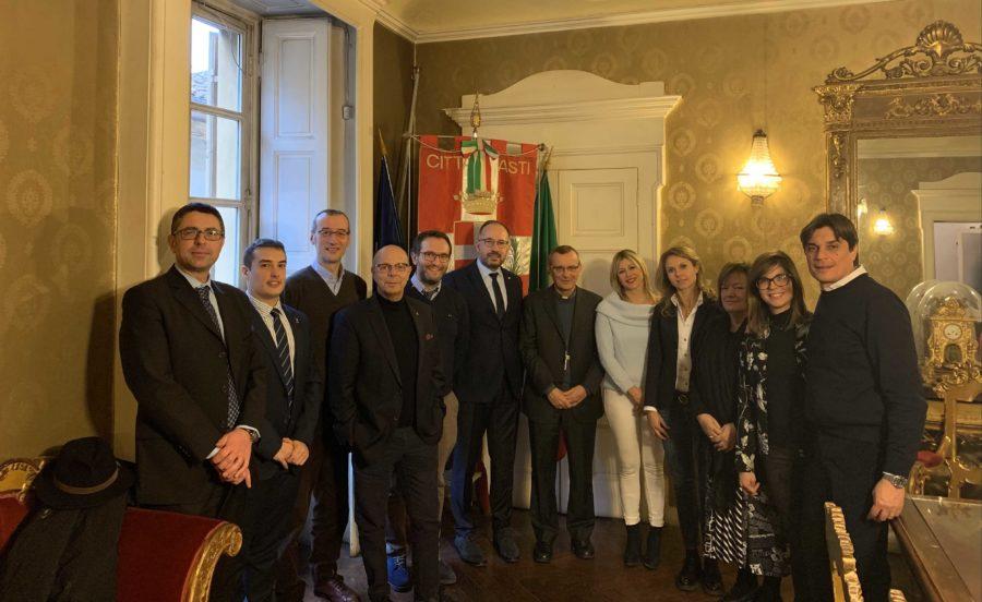 Asti, incontro in Comune fra Vescovo e Giunta