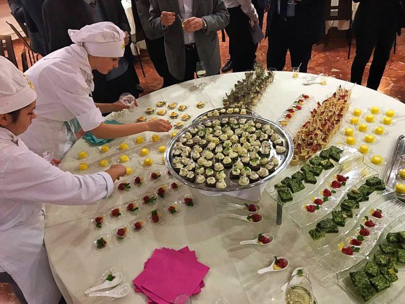 Alba, Apro ha ospitato una cena didattica italofrancese