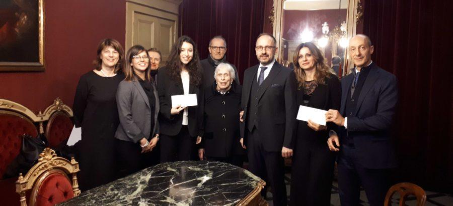 Asti, consegnate le borse di studio Rodolfo De Benedetti