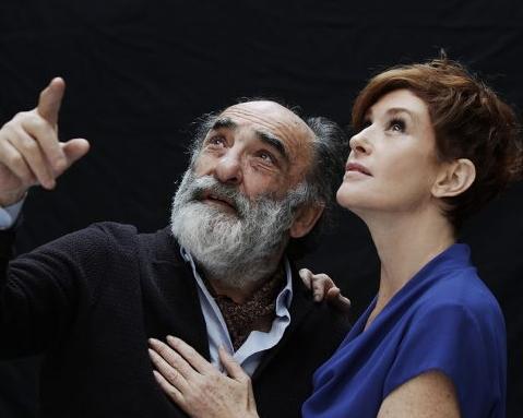 Asti, al Teatro Alfieri Alessandro Haber e Lucrezia Lante Della Rovere