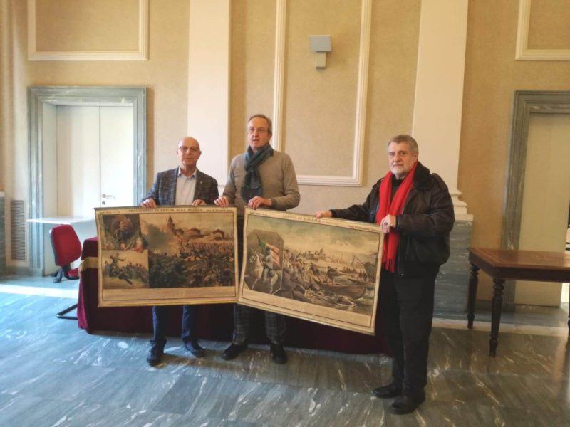 Asti, due litografie per il Museo del Risorgimento