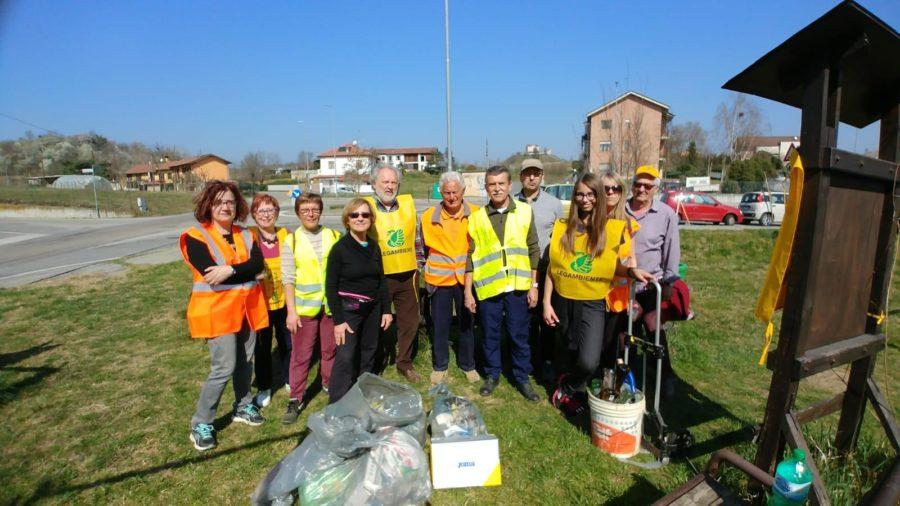 Asti, sabato di pulizia del territorio, troppi i rifiuti trovati