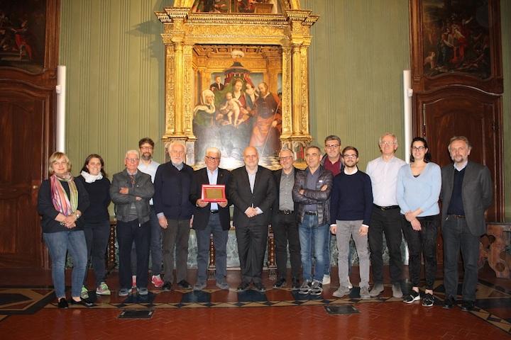Alba, premiato Flavio Zunino, per 22 anni alla guida dell'Avis