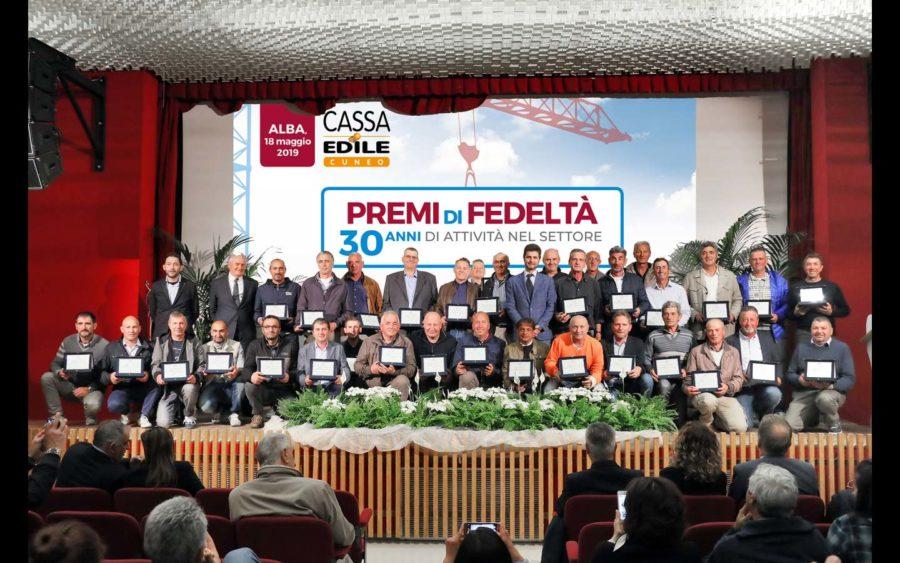 Alba, premiati i lavoratori del settore edile della provincia