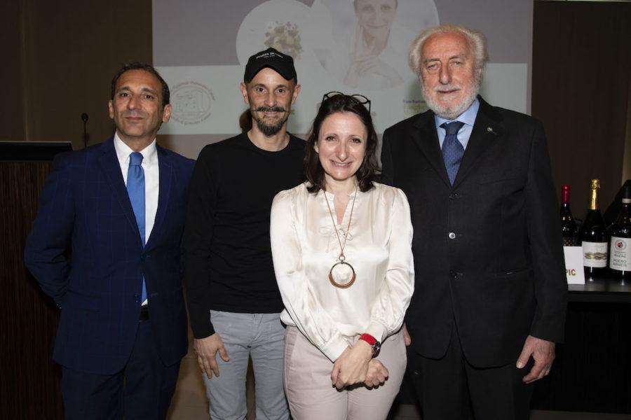 Al Castello di Grinzane omaggiata la chef di fama internazionale Anne-Sophie Pic