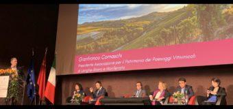 L'Associzione per i Paesaggi vitivinicoli Unesco a convegno sul turismo fra Italia e Cina