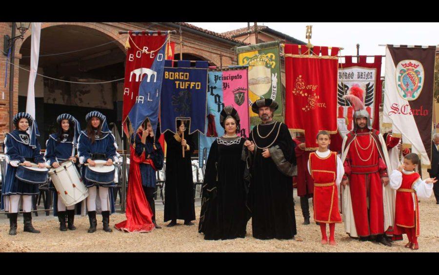A Cocconato la Fiera Medievale in attesa del Palio degli Asini