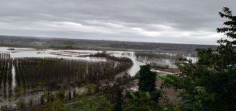 Dopo il maltempo la Valle Tanaro allagata dalla piena del Tanaro