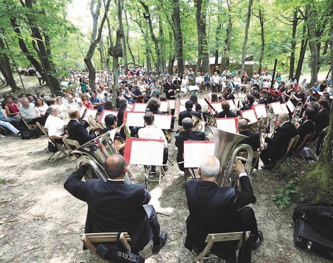 Concerto di Bacchetti per presentare il programma di Alba music festival