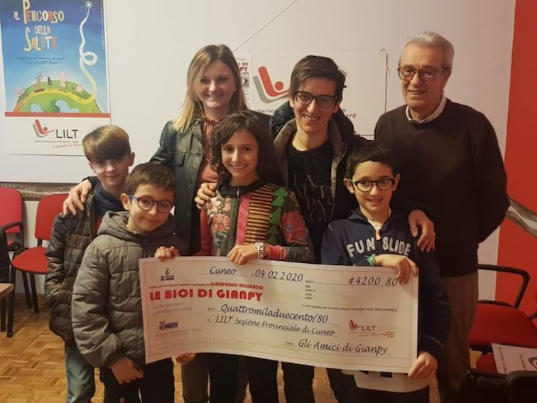 Cuneo, dalla mostra sulle biciclette di Gianpy fondi per la Lilt