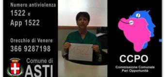Asti, col Comune video a supporto delle donne vittime di violenza