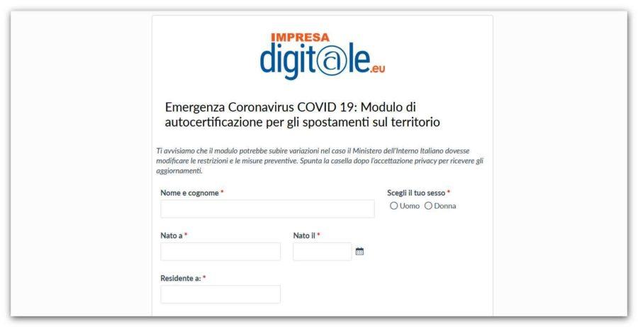 Coronavirus, con Confartigianato Cuneo il modulo on line per gli spostamenti
