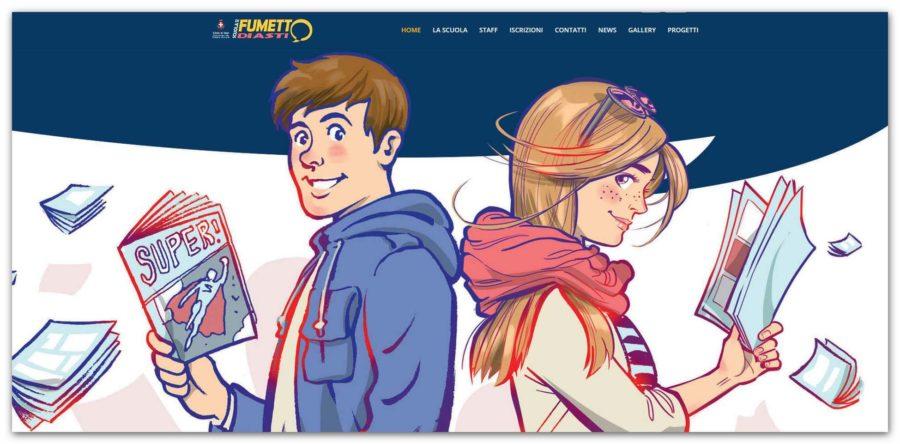 Asti, dalla Scuola di fumetto nuovi video e laboratori per stimolare la creatività