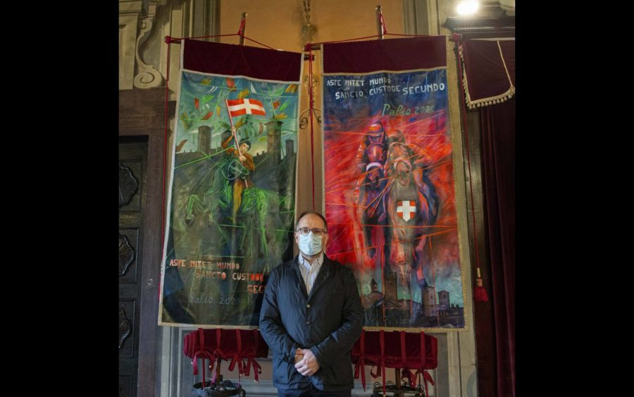Asti, effettuata la cerimonia della stima del Palio, in forma ristretta
