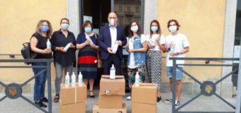 Asti, gel igienizzante dalla Banca del Dono per i centri estivi