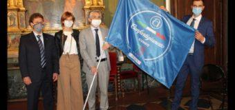 Ad Alba e Bra le bandiere celebrative di Confartigianato Cuneo per i suoi 75 anni di storia