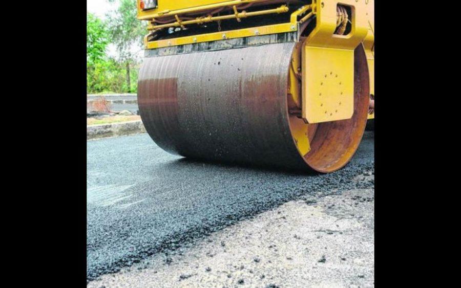 Proseguono i lavori di asfaltatura sulle strade a Roreto e Pollenzo