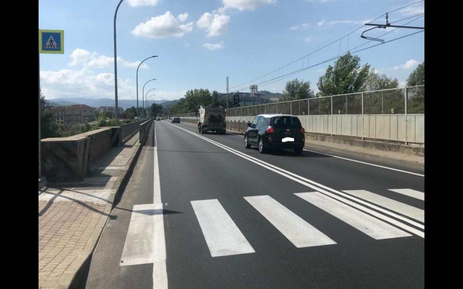 Alba, chiude il vecchio ponte sul Tanaro di notte per la sostituzione dell'illuminazione