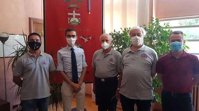 Asti, incontro  fra l'Amministrazione provinciale e il Volontariato di Protezione civile