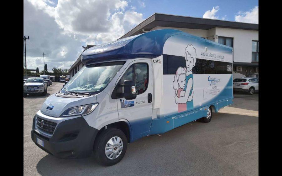 Un ambulatorio mobile per l'Asl del territorio Albese e Braidese
