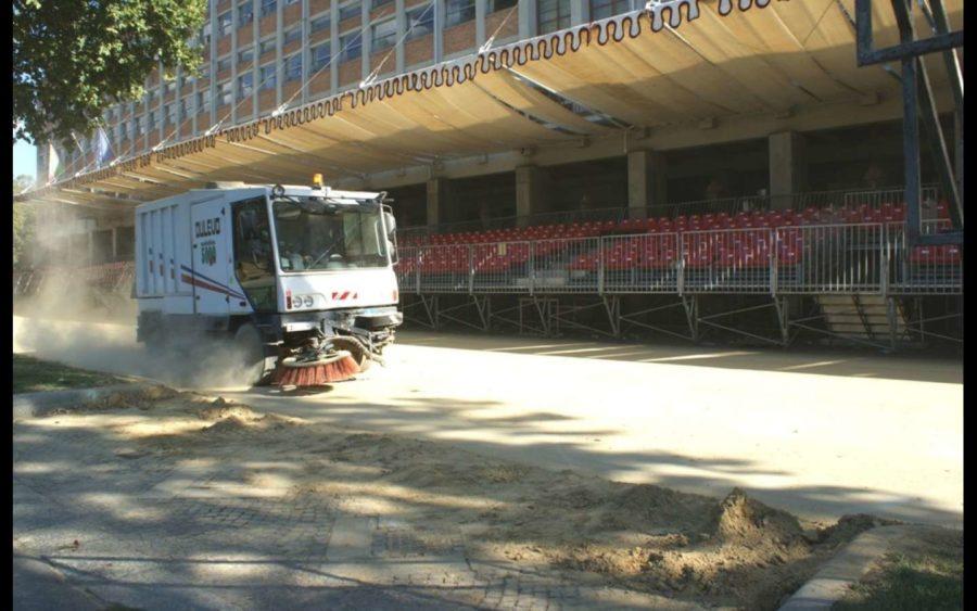 Asti, la pulizia delle strade procede regolarmente