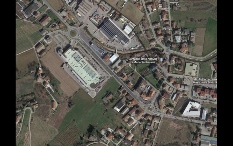 Alba, lavori di sistemazione di due rotonde a Mussotto