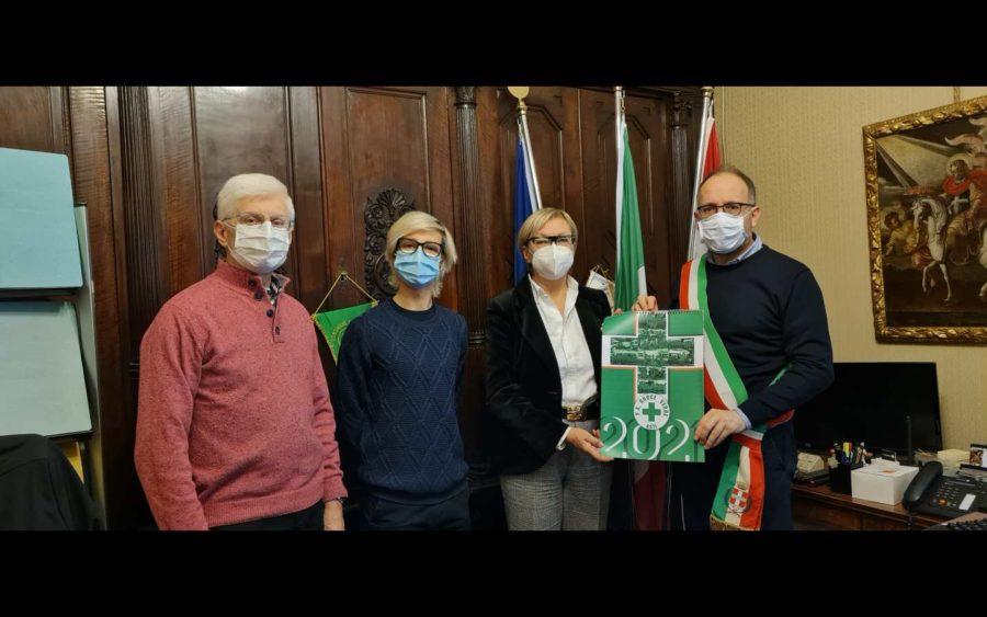 Asti, rappresentanza della Croce verde ha incontrato il sindaco in Municipio