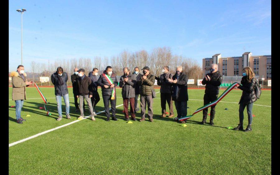 Alba, inaugurati due campi da calcio restaurati
