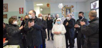 Asti, la Vigilia di Natale visita di sindaco e assessori alla Mensa sociale
