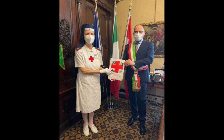 Asti, il sindaco ha incontrato il corpo infermiere volontarie della Croce Rossa