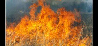 In Piemonte stato di allerta per gli incendi, vietato accendere fuochi