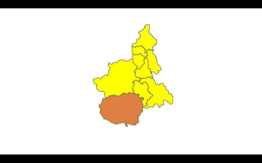 Il Piemonte in zona gialla da lunedì 26 aprile, tranne la Provincia di Cuneo, arancione fino giovedì 29