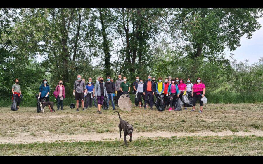 Alba, oltre un centinaio di volontari hanno pulito i sentieri del Comune