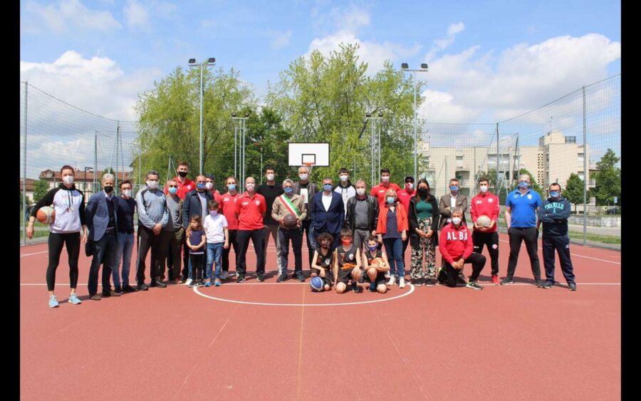 Alba, aperti i campi da basket e beach volley del Parco Böblingen