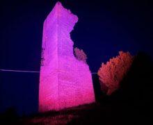 Percorso illuminato di rosa in Langa e Roero lungo la tappa del Giro, grazie a Egea