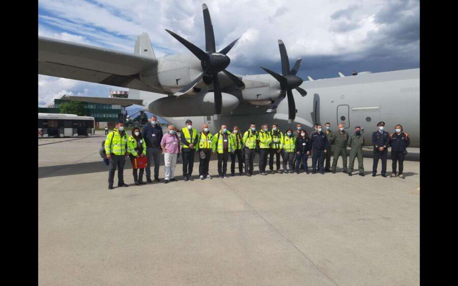 Dal Piemonte un team di soccorso all'India contro il Covid-19