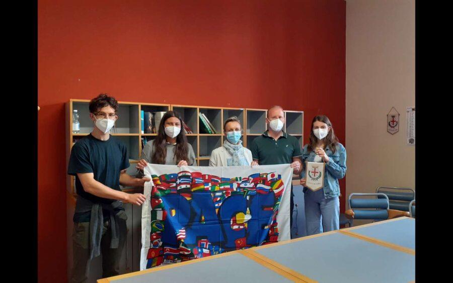Alba, la vice sindaco Boffa incontra i giovani dell'Arsenale della Pace di Torino