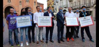 Alba, premiati gli atleti per i loro trionfi sportivi a livello nazionale