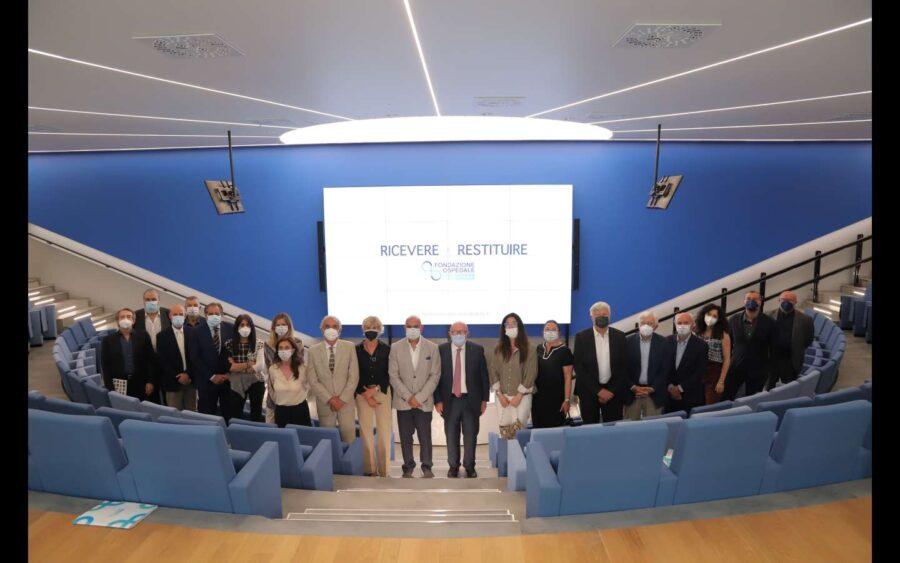 La Fondazione Ospedale Alba-Bra rinnova il Consiglio D'Amministrazione e trasferisce la sede al nosocomio a Verduno