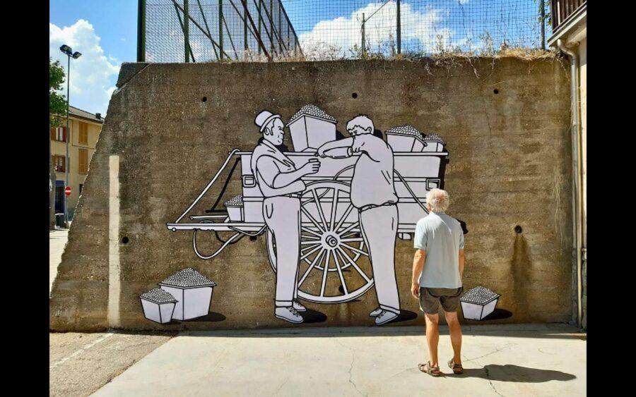 Monforte D'Alba, Wine in progress unisce la tradizione delle foto d'epoca con il mondo digitale dei social