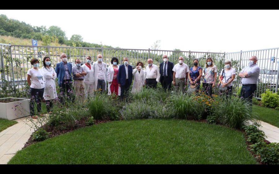All'ospedale di Verduno il primo giardino terapeutico per i pazienti psichiatrici